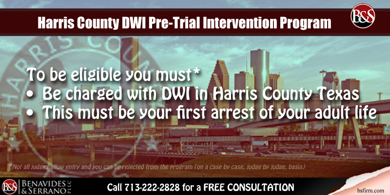 Harris County DWI Pre-Trial Intervention Program