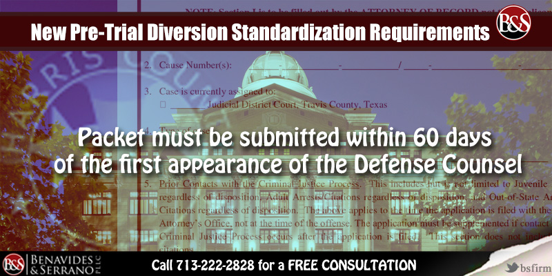 New Pre-trial Diversion Standardization Requirements