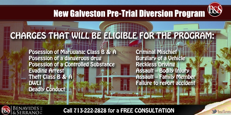 Galveston Pre-Trial Diversion Program